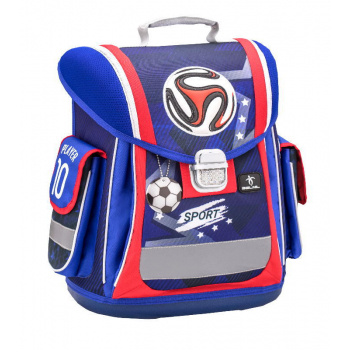 Ранец Belmil Sporty Red-Blue Football