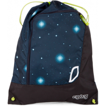 Мешок для обуви Ergobag Gym Atmosbear Galaxy Glow