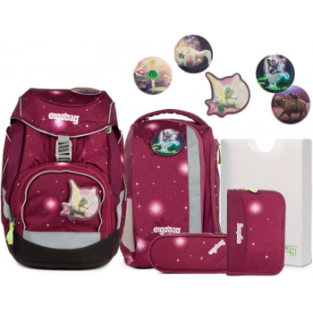 Рюкзак Ergobag Pack-Set с наполнением Bearly Tales Galaxy Glow